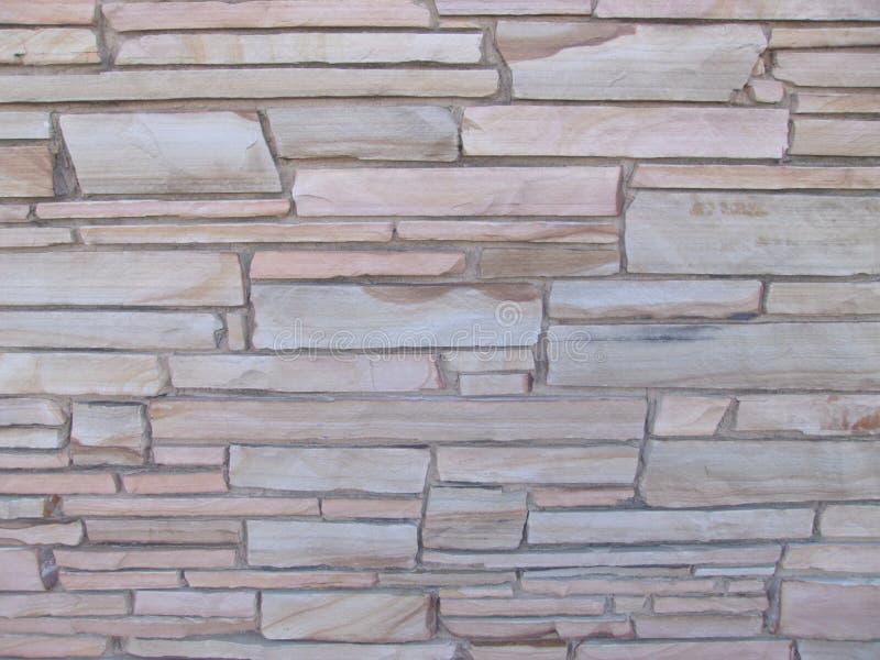 Blocky Steinwand mit Steinen von verschiedenen Größen 4 lizenzfreies stockbild