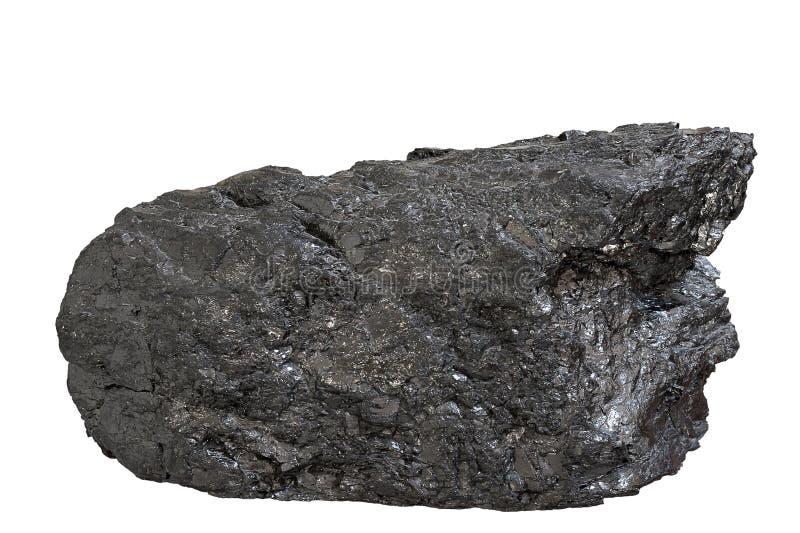 Bloco antracífero de carvão imagens de stock royalty free