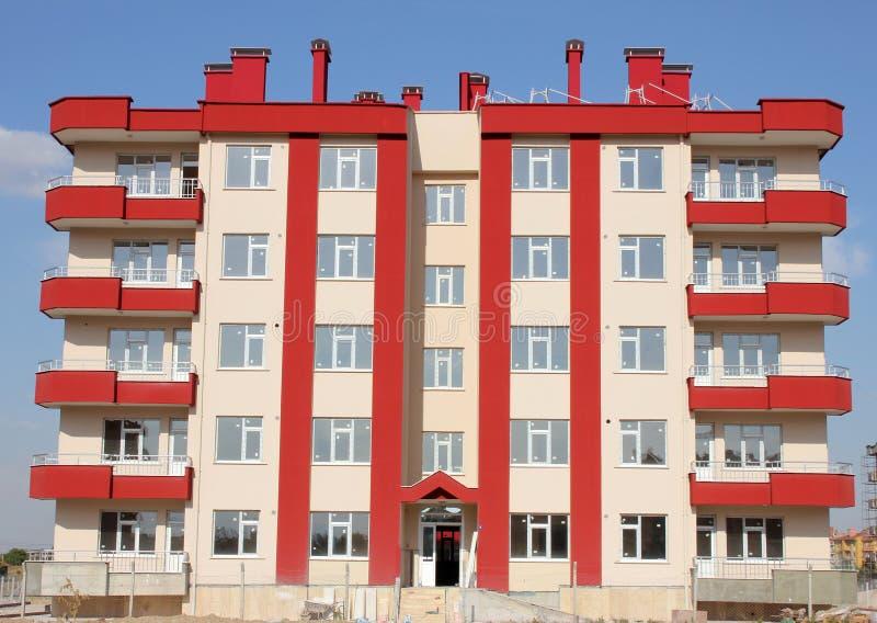 Bloco de apartamentos imagens de stock