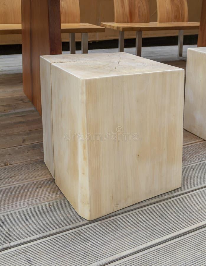 Bloco de madeira fotos de stock