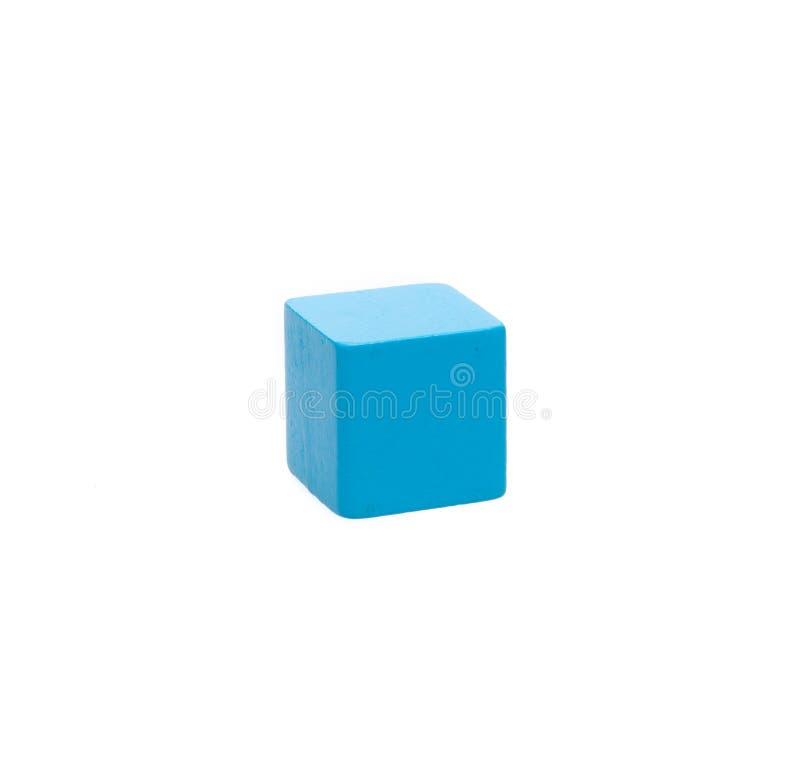 Bloco de madeira classificado do brinquedo imagem de stock