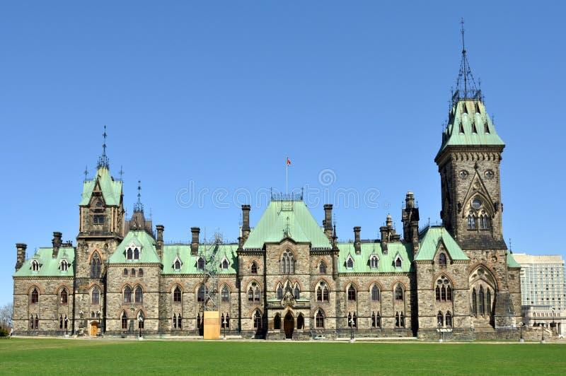 Bloco do leste de edifícios do parlamento foto de stock royalty free