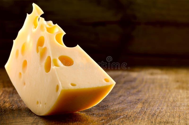 Bloco do queijo foto de stock