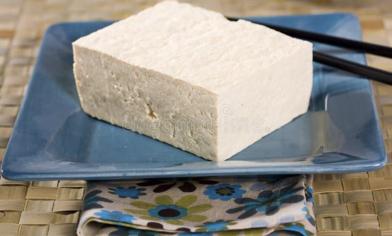Bloco do Tofu foto de stock