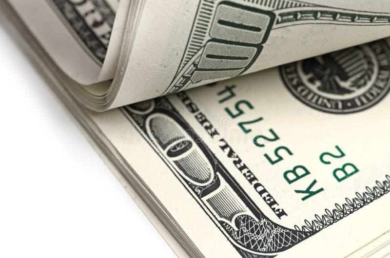 Bloco dos dólares. foto de stock royalty free