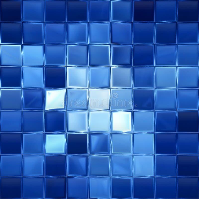 Blocos azuis ilustração royalty free