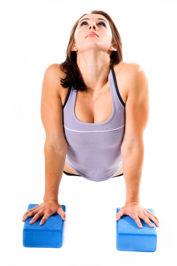 Blocos da ioga imagens de stock