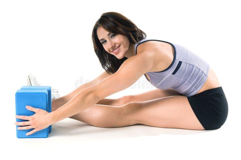 Blocos da ioga fotos de stock royalty free