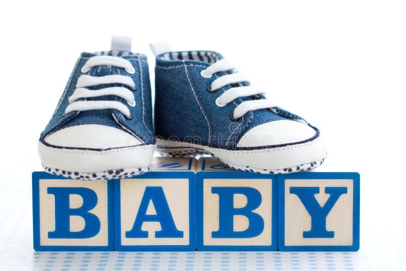 Blocos de apartamentos do bebê fotos de stock