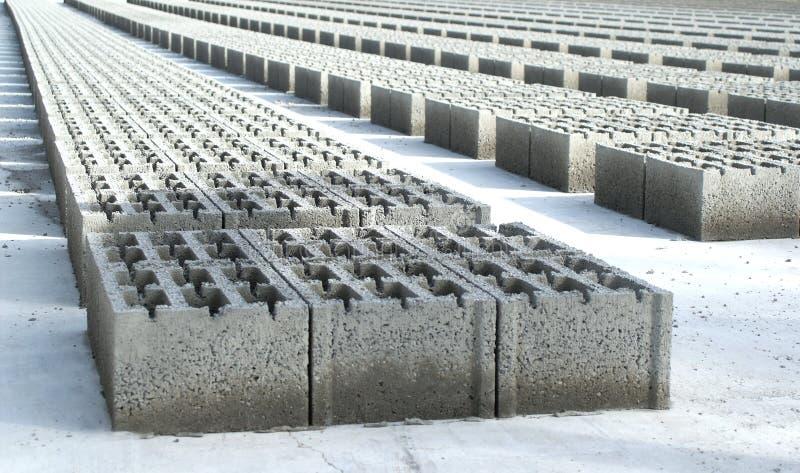 Blocos de cimento imagens de stock royalty free