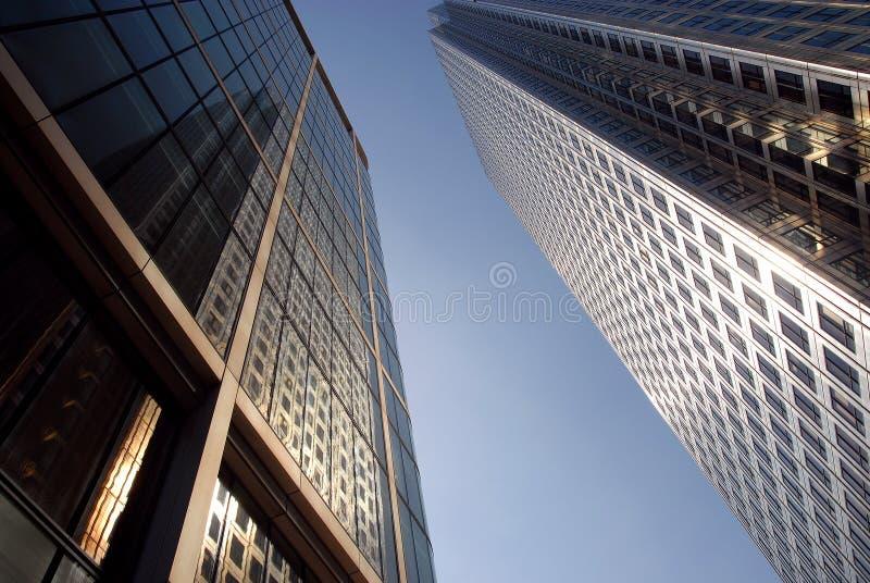 Blocos de escritório de Londres fotos de stock