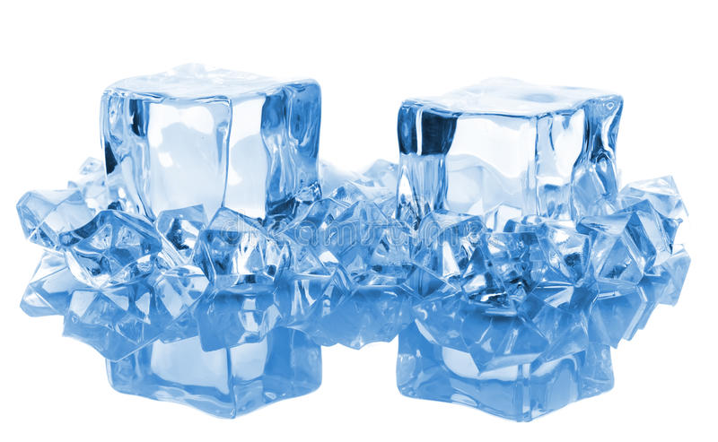 Blocos de gelo foto de stock royalty free