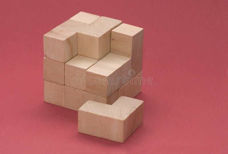 Blocos de madeira imagem de stock royalty free