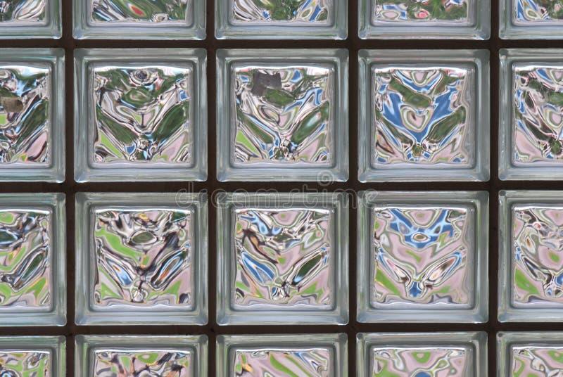 Blocos de vidro fotografia de stock royalty free
