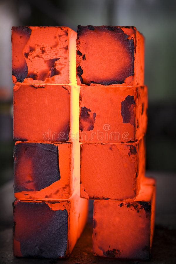 Blocos do ferro fotos de stock