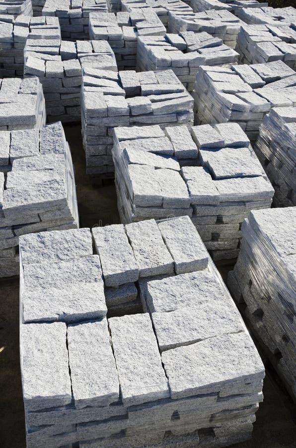 Blocos do granito imagem de stock royalty free