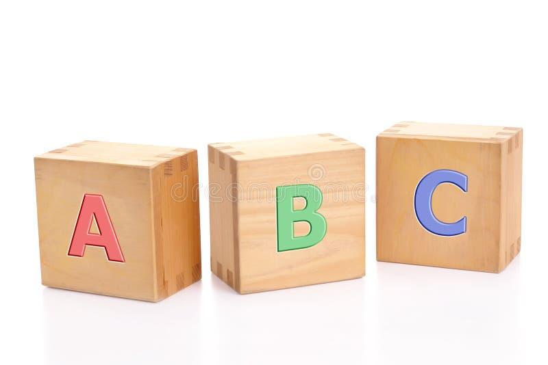 Blocs d'ABC photographie stock libre de droits