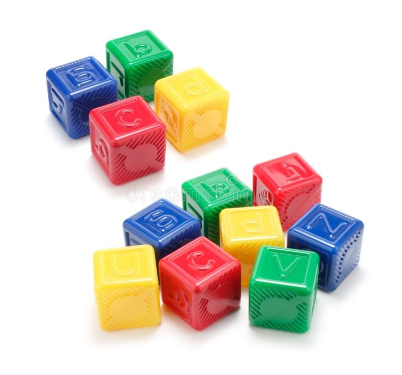 blocs d'alphabets photographie stock libre de droits