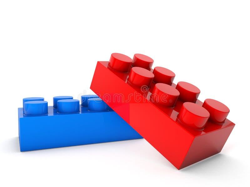 Blocs de jeu illustration de vecteur