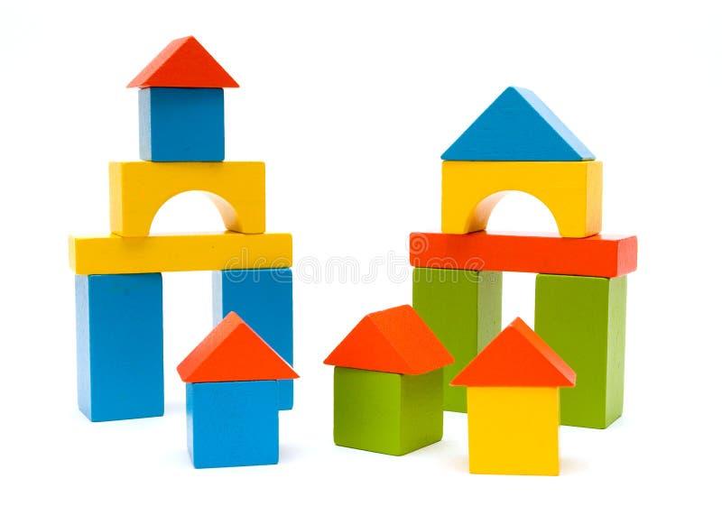 Blocs de jouet images libres de droits