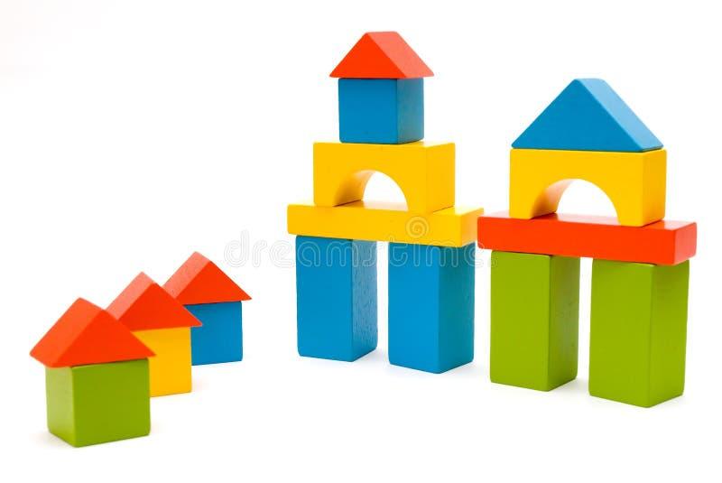 Blocs de jouet photo stock