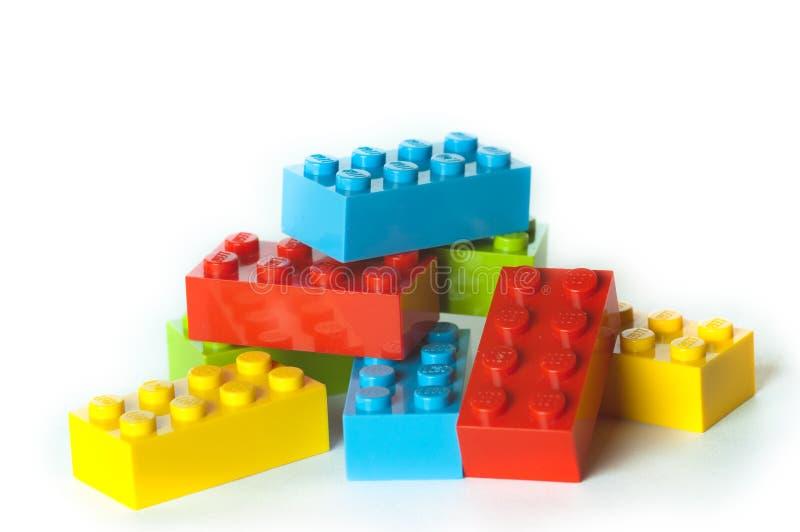 Blocs de Lego image libre de droits