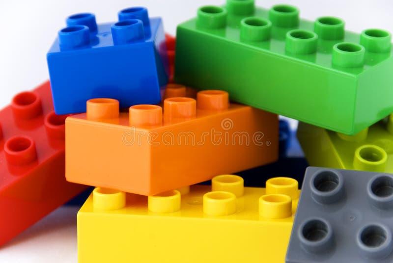 Blocs de lego de construction photos stock