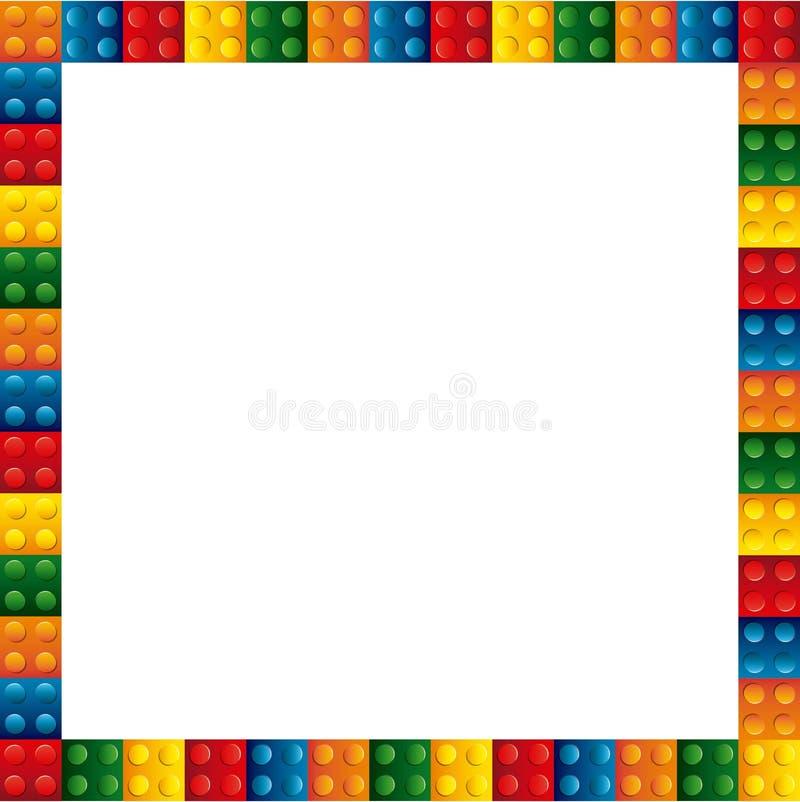 blocs pour établir la conception illustration stock