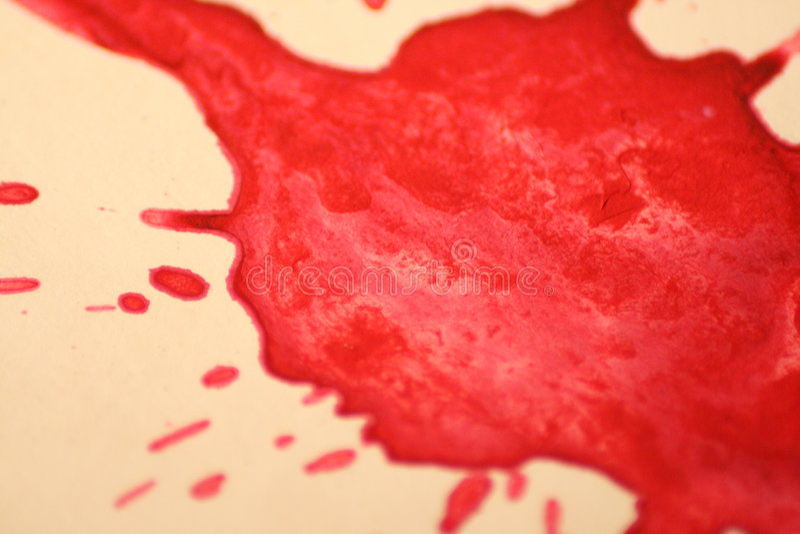 blod royaltyfri bild