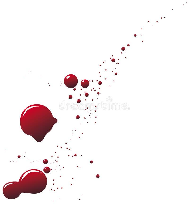 blod vektor illustrationer