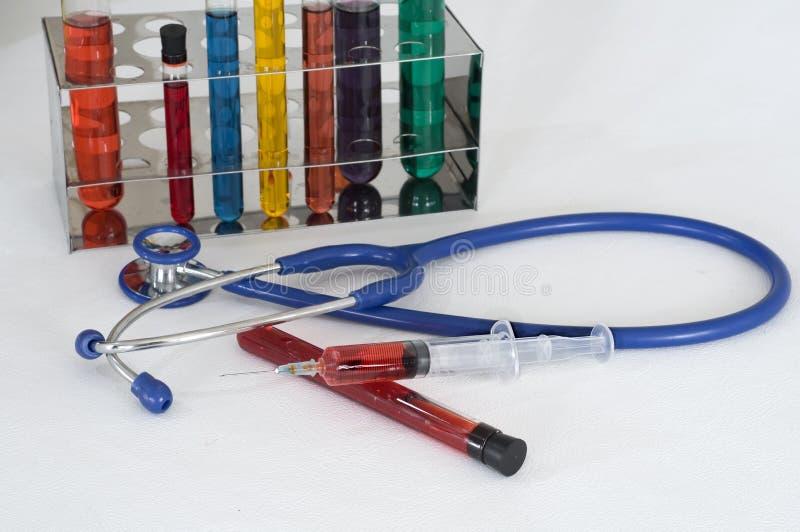 blod samples provning fotografering för bildbyråer