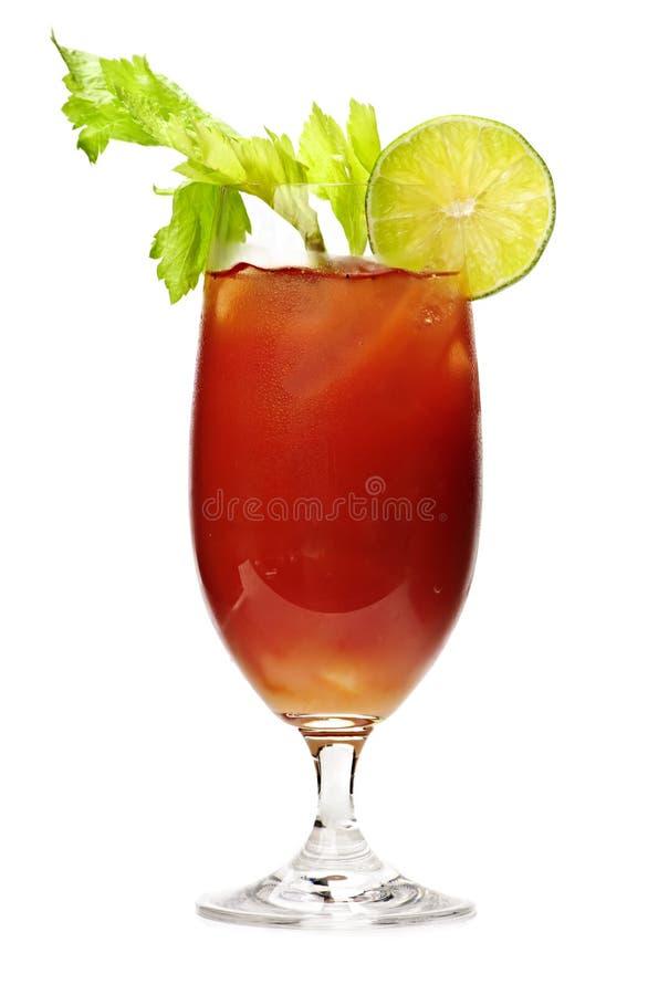 bloda ner drinken mary royaltyfria bilder