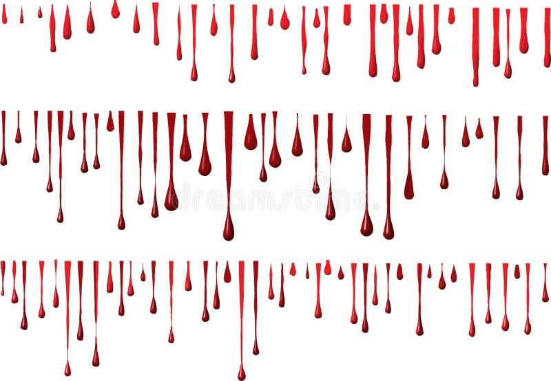 blodgrunge vektor illustrationer