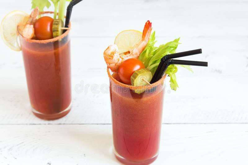 blodig coctail mary arkivfoto