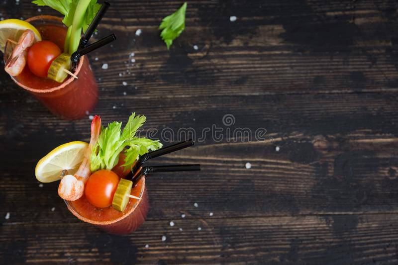 blodig coctail mary royaltyfri foto