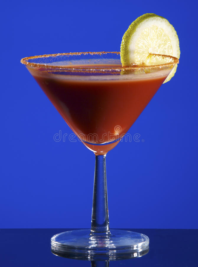 Blodig Mary coctail. arkivfoton