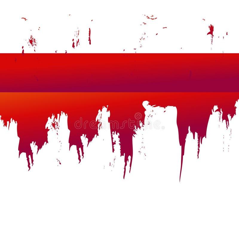 blodsplat stock illustrationer