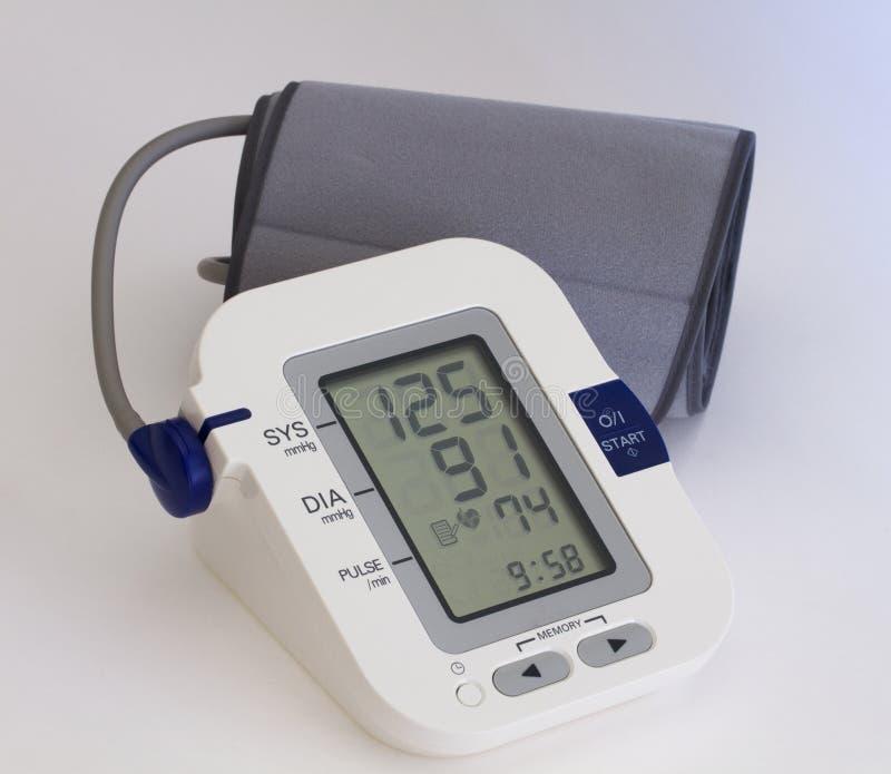 blodtryck arkivfoto