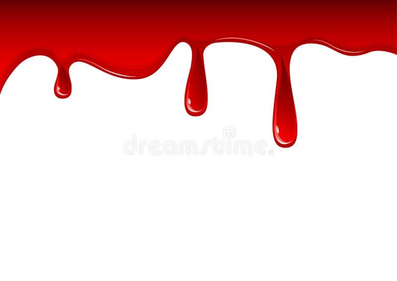 Bloed stock illustratie