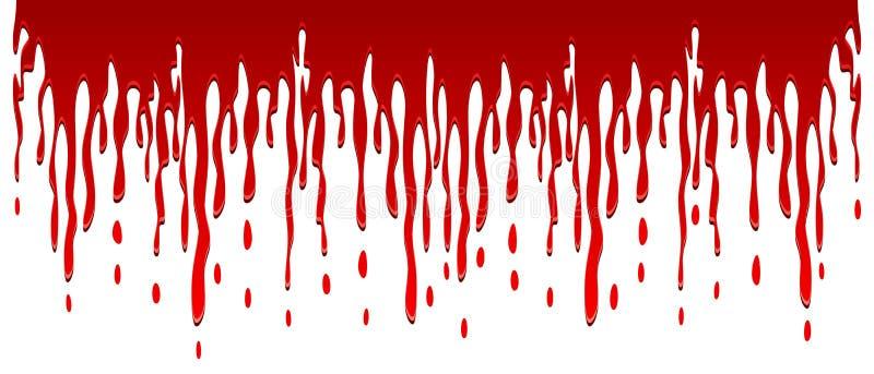 Bloed het stromen royalty-vrije illustratie