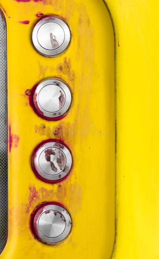 Bloedige intercom stock afbeeldingen