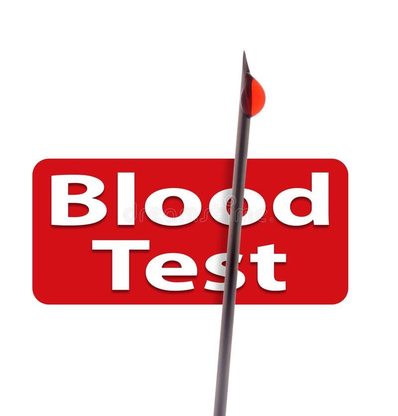 Bloedonderzoek stock afbeelding