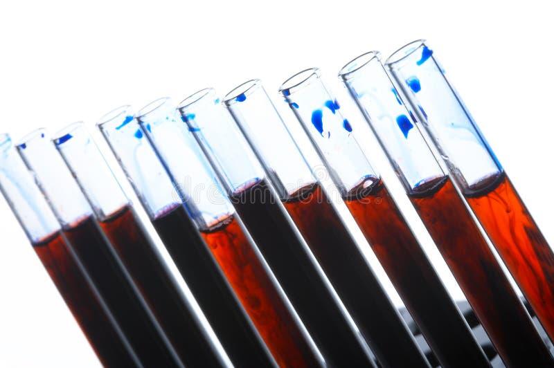 Bloedonderzoek stock foto's