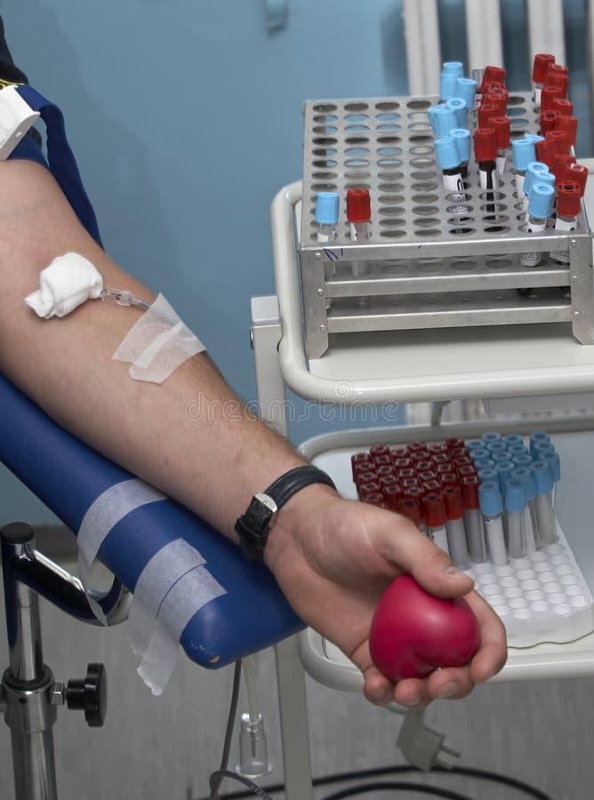 Bloedonderzoek 2 van het laboratorium royalty-vrije stock foto