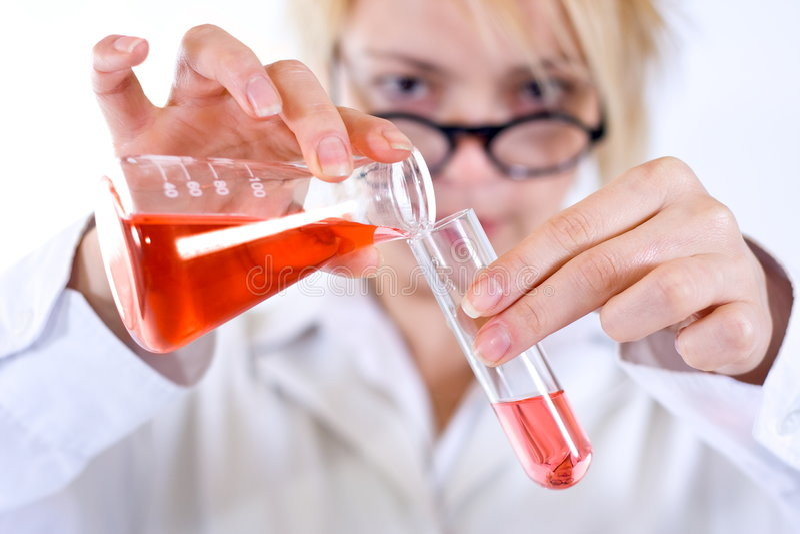 Bloedonderzoek royalty-vrije stock foto's