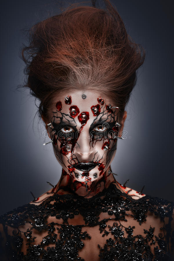 Bloedverlangen. stock fotografie