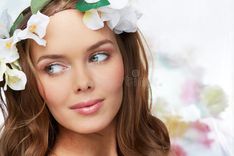 In bloei royalty-vrije stock foto