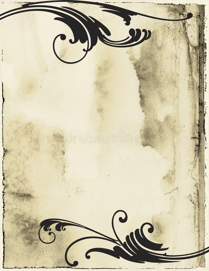 Bloei Grunge royalty-vrije illustratie