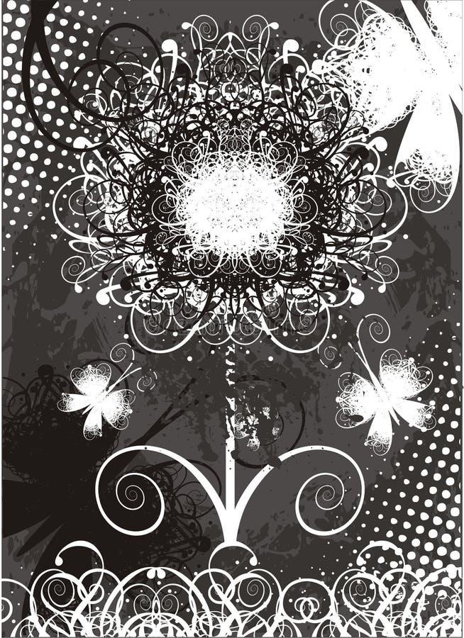 Bloem royalty-vrije illustratie