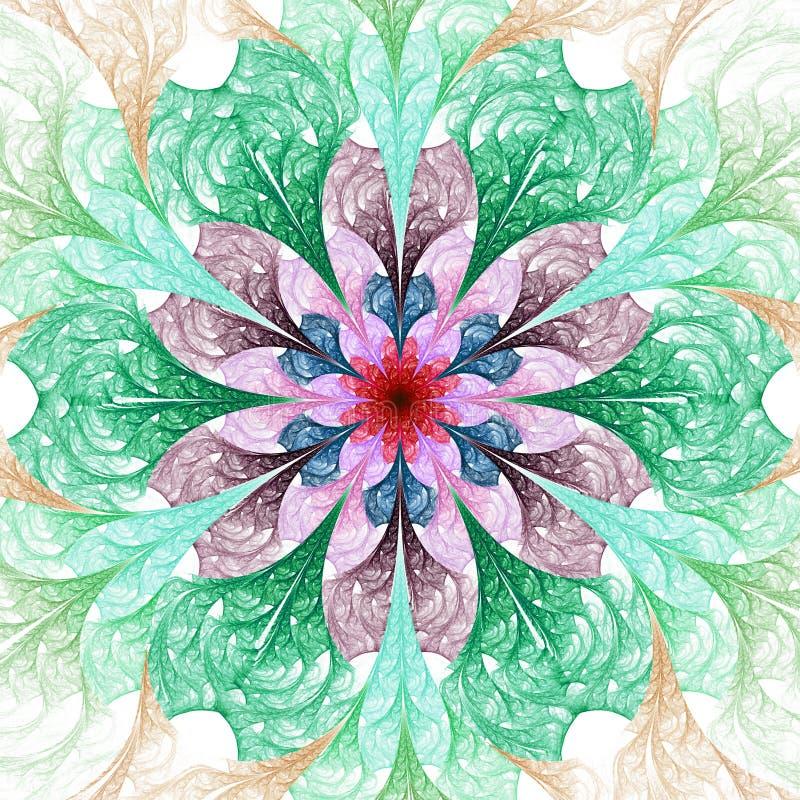 Bloem Mandala stock foto